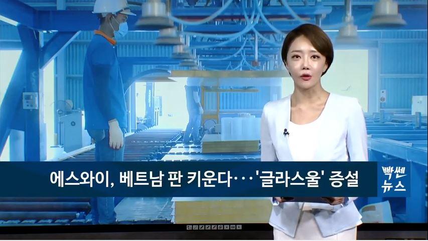 11/26 팍스경제TV - 베트남 판 키우는 에스와이, '글라스울' 생산 늘리고 '고부가제품' 먼저 판다